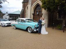 Vintage,Classic 1950's American Wedding Car Hire Lincolnshire, Humberside & Nottingham Areas